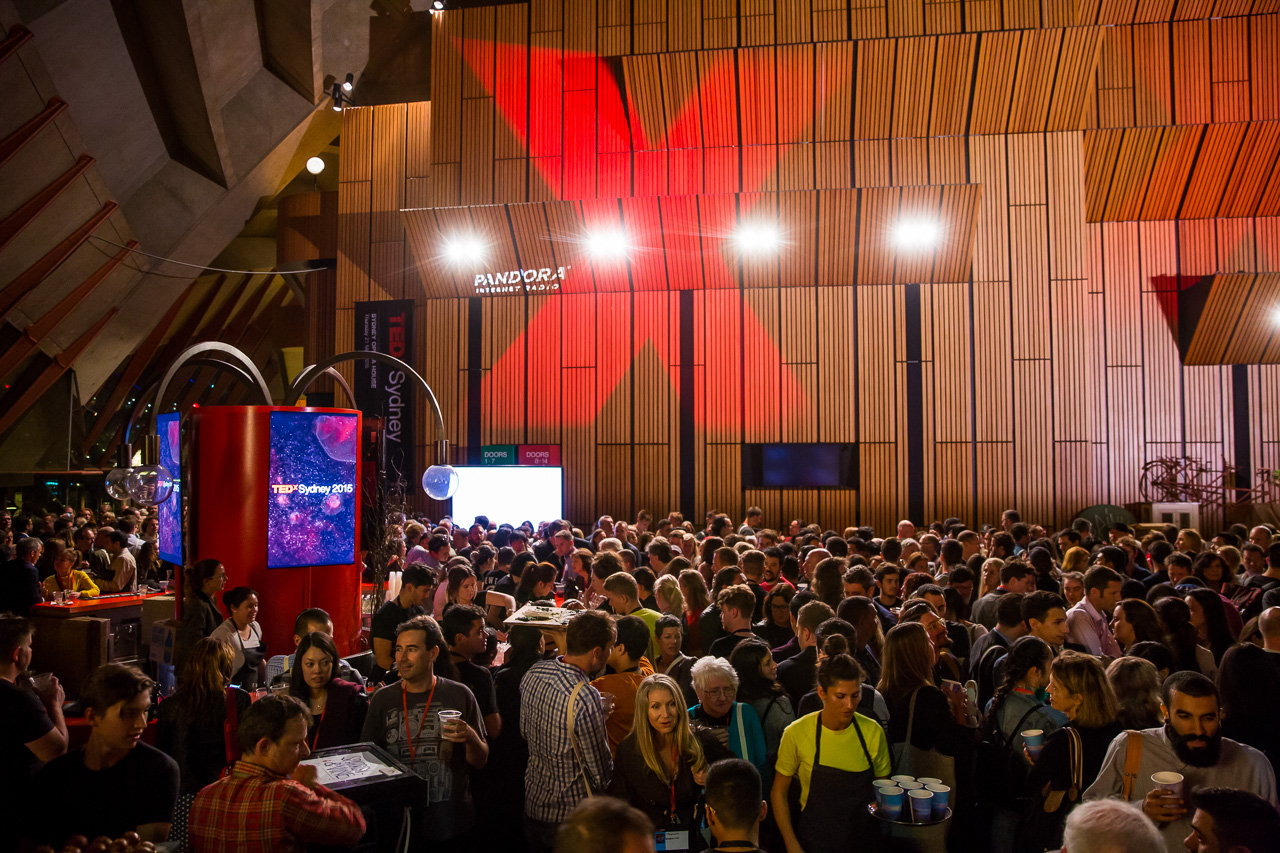 TEDxSydney 2015 - Partnerships - at the Sydney Opera House, May 22nd, 2015. Photo by Anna Kucera.